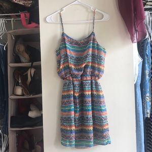 City Triangles Dresses - City Triangles Boho Print Dress size medium